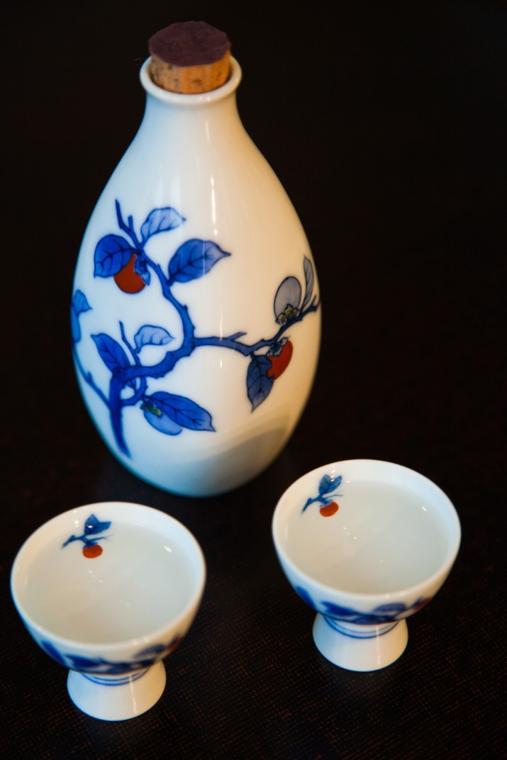 Sake set is a generic term for the flask and cups used to