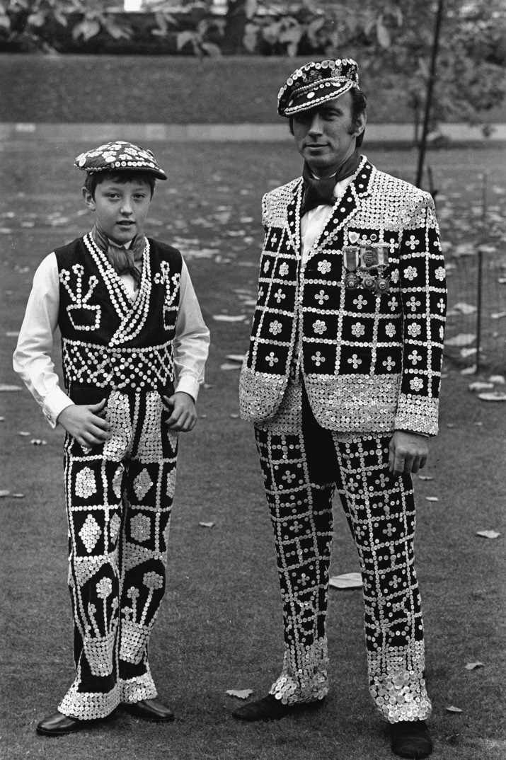 London's East End in the 60's Pearly Kings and Queens